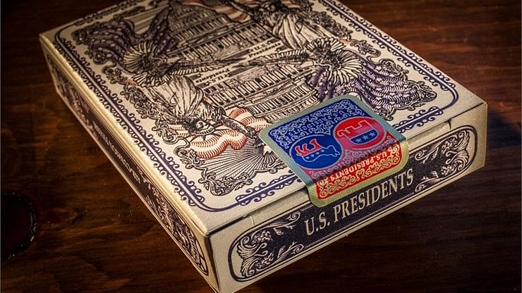 Bicycle U.S. Presidents Playing Cards (Republican Red)