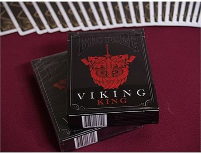 Trick Bicycle Viking Blizzard Wing Deck by Crooked Kings Cards