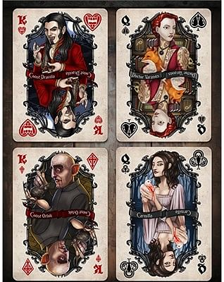 Bicycle Vintage Vampires Playing Card (Limited Edition)