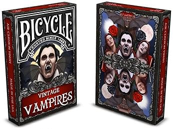 Bicycle Vintage Vampires Playing Card - magic