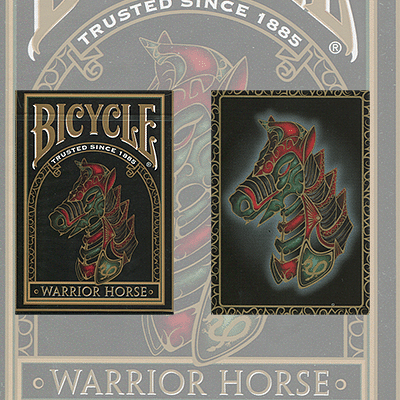 Bicycle Warrior Horse Playing Cards - magic