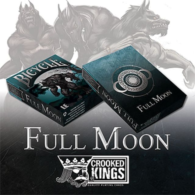 Bicycle Werewolf Full Moon Playing Cards (Limited Edition) - magic