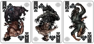 Bicycle Werewolf Full Moon Playing Cards (Special Edition)