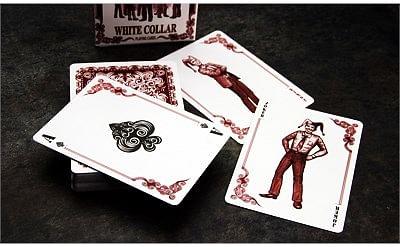 Bicycle White Collar Playing Cards