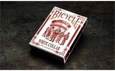 Bicycle White Collar Playing Cards - magic