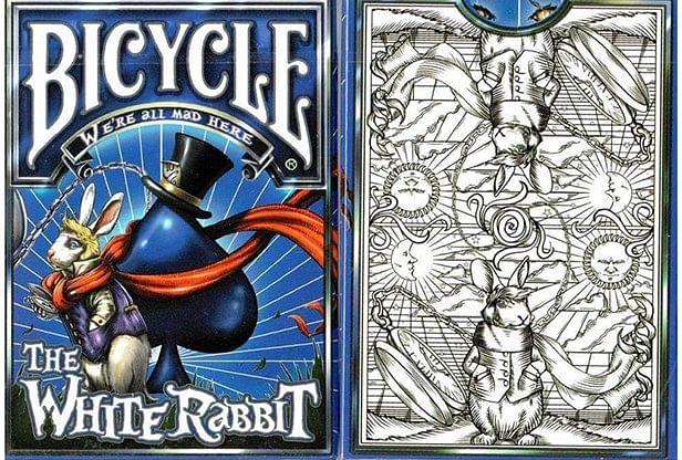 Bicycle White Rabbit Playing Cards - magic