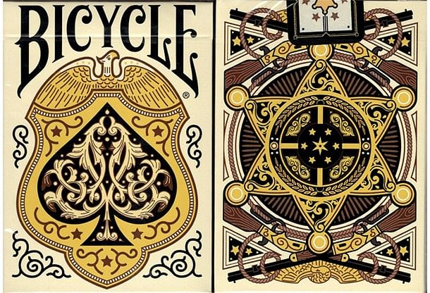 Bicycle Wild West (Lawmen Edition) Playing Cards  - magic