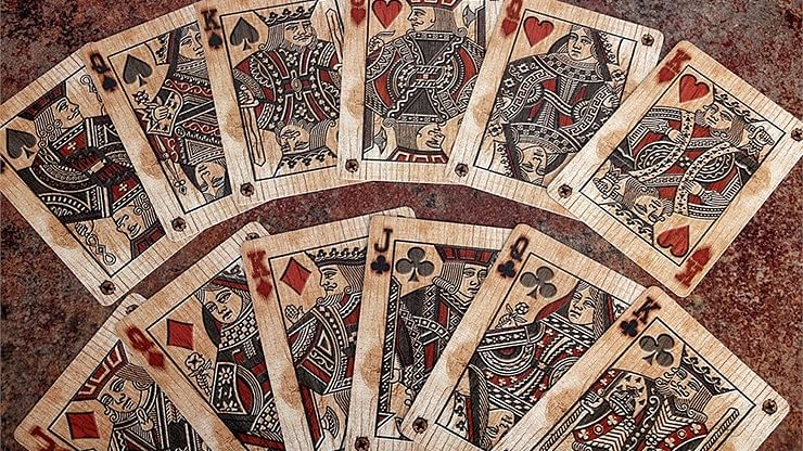 Bicycle Wood Playing Cards