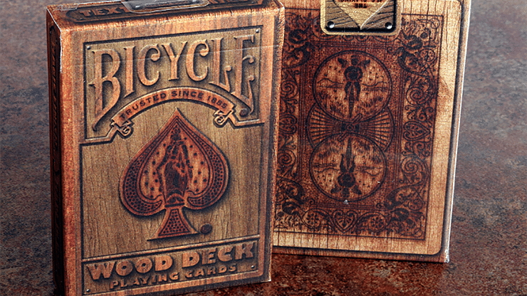 Bicycle Wood Playing Cards - magic