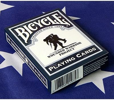 Bicycle Wounded Warrior Playing Cards - magic