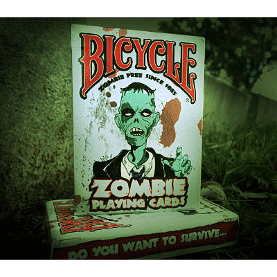 Bicycle Zombie Playing Cards - magic