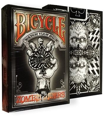 Bicycle Zombie Riders Deck - magic