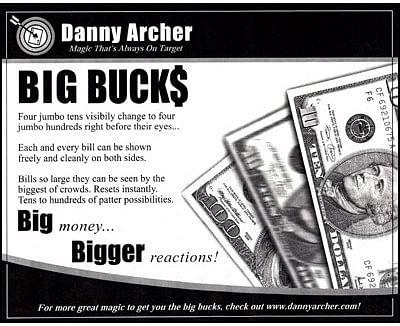 Big Bucks - magic