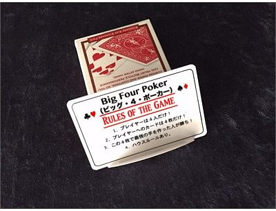 Big Four Poker Japanese version
