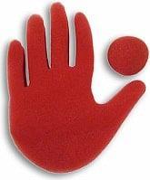 Big Red Hand Trick - magic