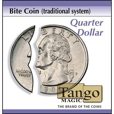 Bite Coin - Quarter Dollar - magic