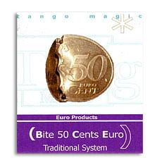 Bite Coin - 50 Euro Cents - magic