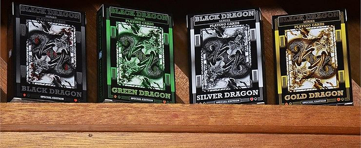 Black Dragon Series Playing Cards