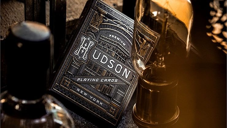 Black Hudson Playing Cards - magic
