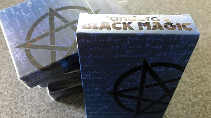 Black Magic Playing Cards