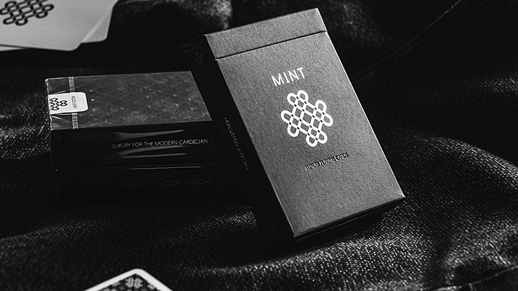 Black Mint Playing Cards - magic