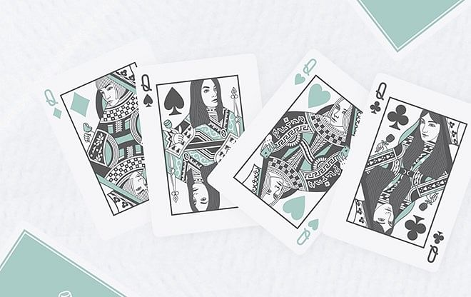 Black Roses Hotel Playing Cards