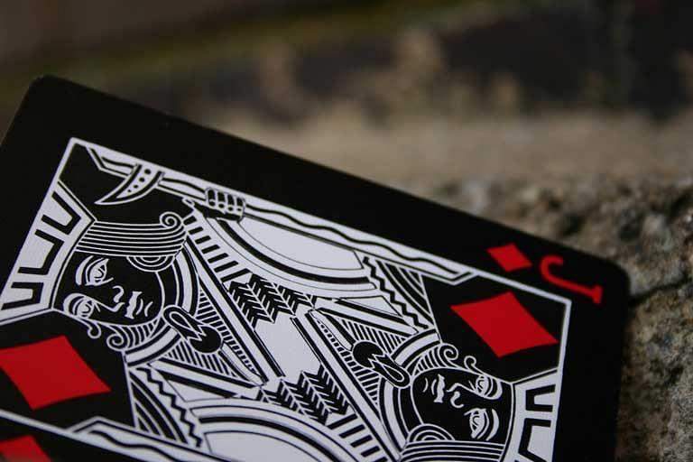 Black Tiger Deck (Red Pips)