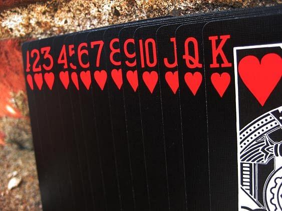 Black Tiger Deck (Red Pips) - magic