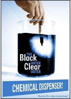 Black Water Clear Water Dispenser - magic