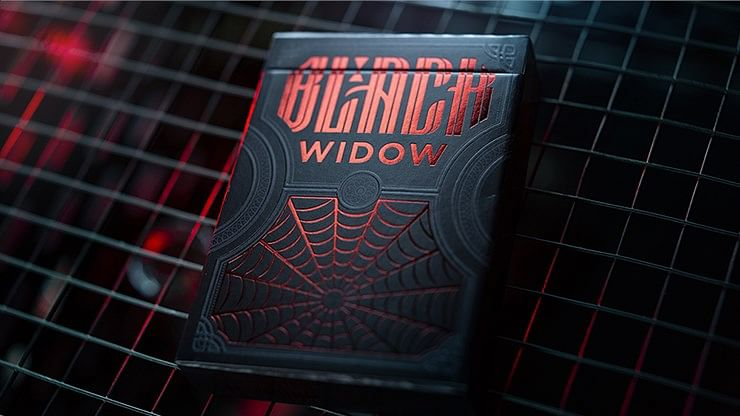 Black Widow Playing Cards - magic