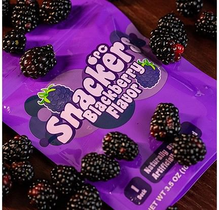 Snackers Blackberry Playing Cards - magic