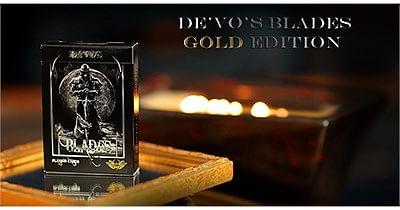 "BLADES ""Gold Edition"" Deck - magic"