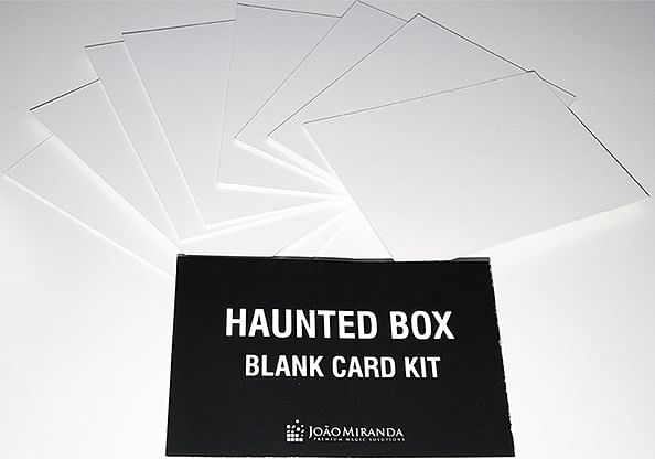Blank Card Kit for Haunted Box