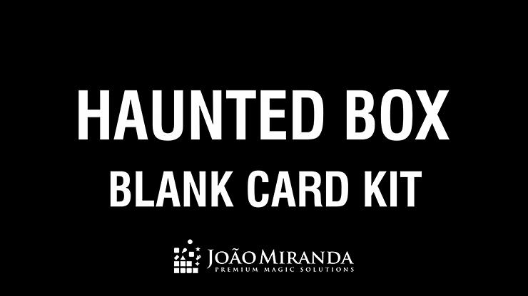 Blank Card Kit for Haunted Box - magic
