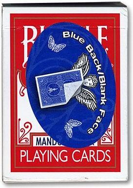 Blank Face 809 Mandolin Back  - magic