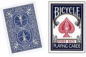 Blank Face Bicycle Cards - magic