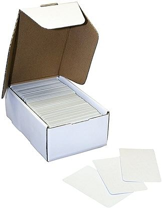 Blank Large Cards