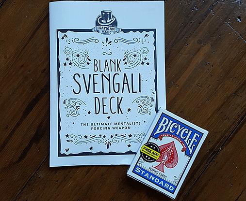 Blank Svengali - magic