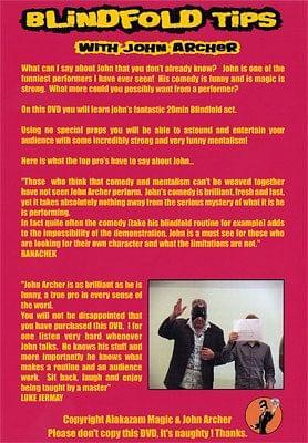 Blindfold Tips