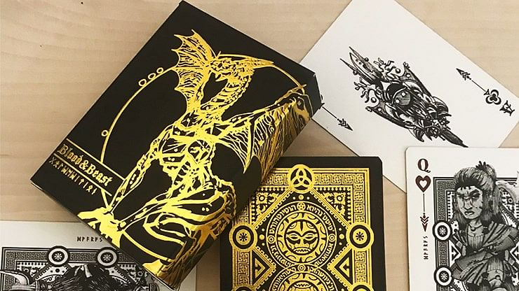 Blood and Beast  Playing cards - magic