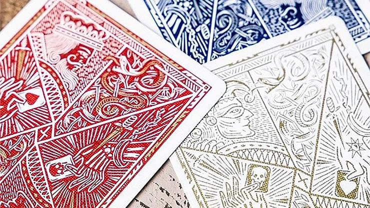 Blood Red Edition Playing Cards