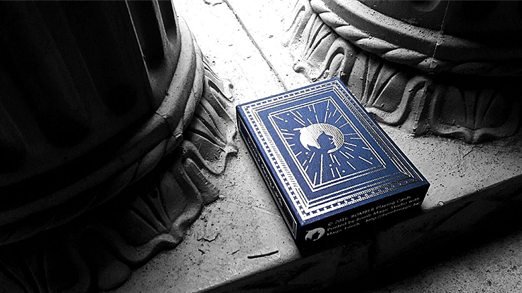 Blue Bomber Playing Cards - magic