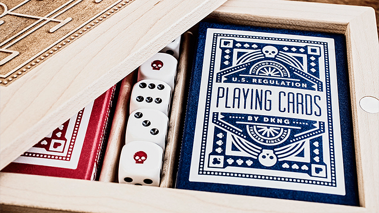 Blue Wheel Playing Cards - magic