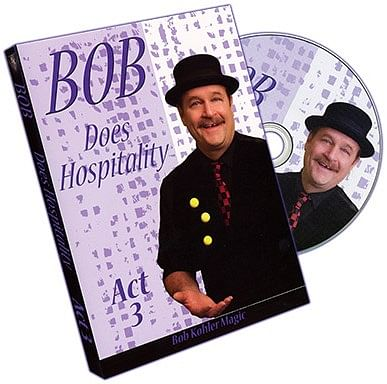 Bob Does Hospitality - Act 3 - magic