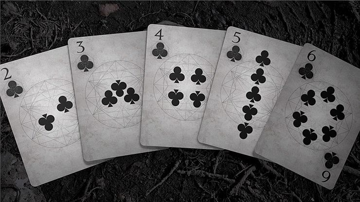 Bones Dust Playing Cards