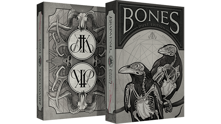 Bones Dust Playing Cards - magic