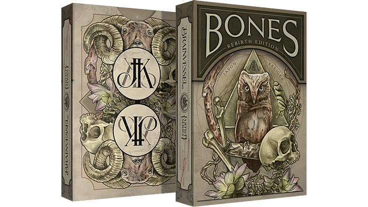 Bones Playing Cards (Rebirth Edition)