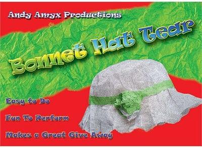 Bonnet Hat Tear - magic