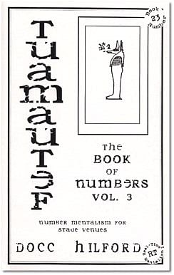 Book Of Numbers Volume Three - magic