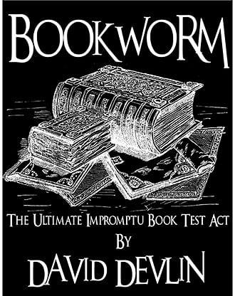 Bookworm - The Ultimate Impromptu Book Test Act - magic
